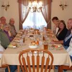 Everyone at dinner