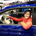Me, rolling in a Fiat