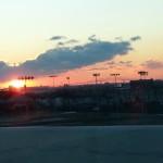 sunrise, key bridge